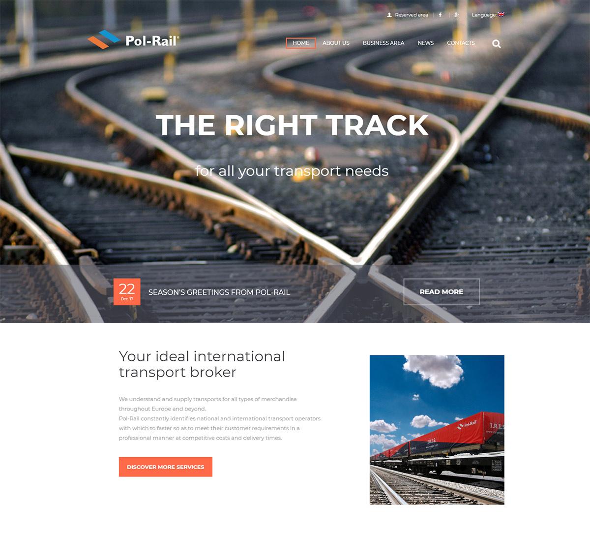 Sito internet Pol-Rail