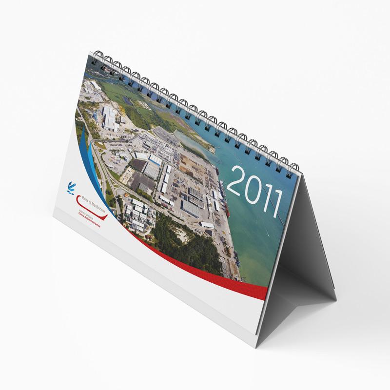Calendario da tavolo personalizzato - Porto di Monfalcone