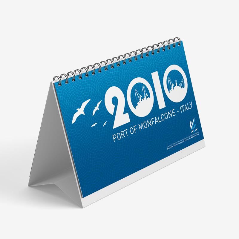 Calendario da tavolo Porto di Monfalcone