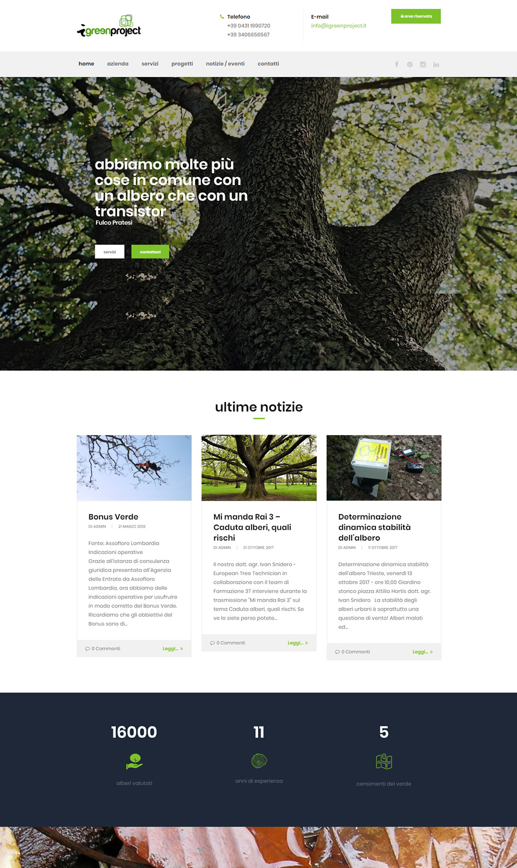 Sito web iGreeenProject