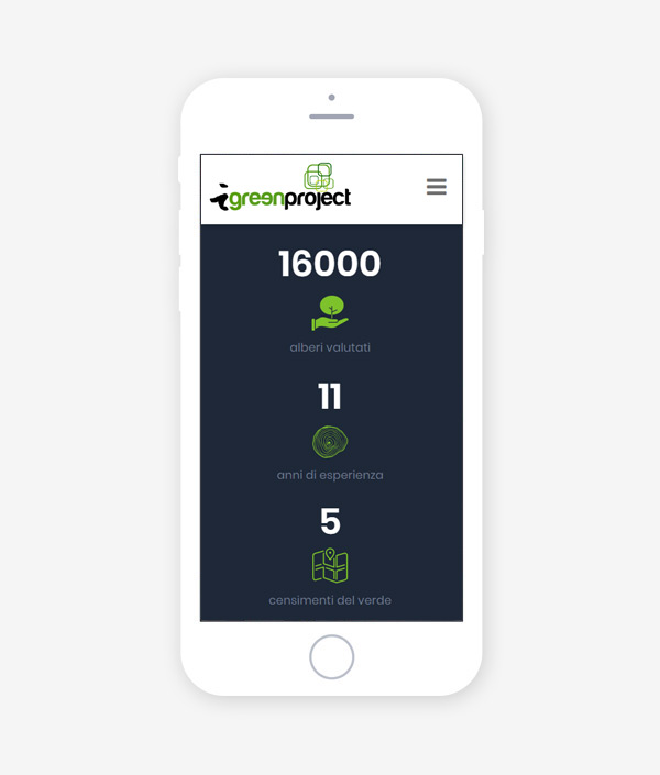 Web responsive iGreeenProject