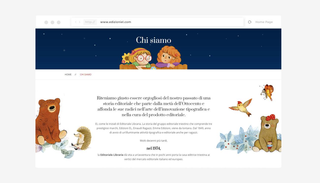 Sito web Edizioni EL