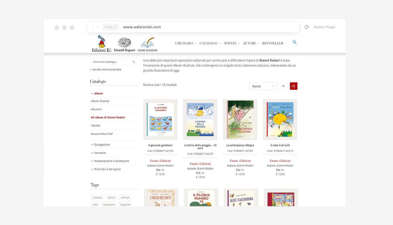 Catalogo libri per bambini Edizioni EL