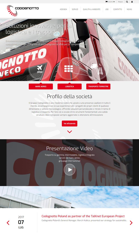 Sito web Codognotto