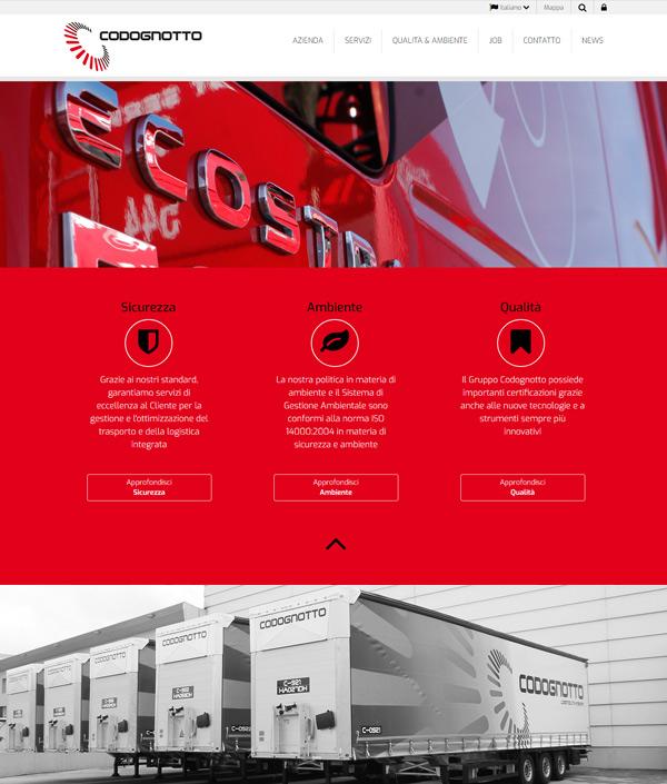 Sito web Codognotto Group