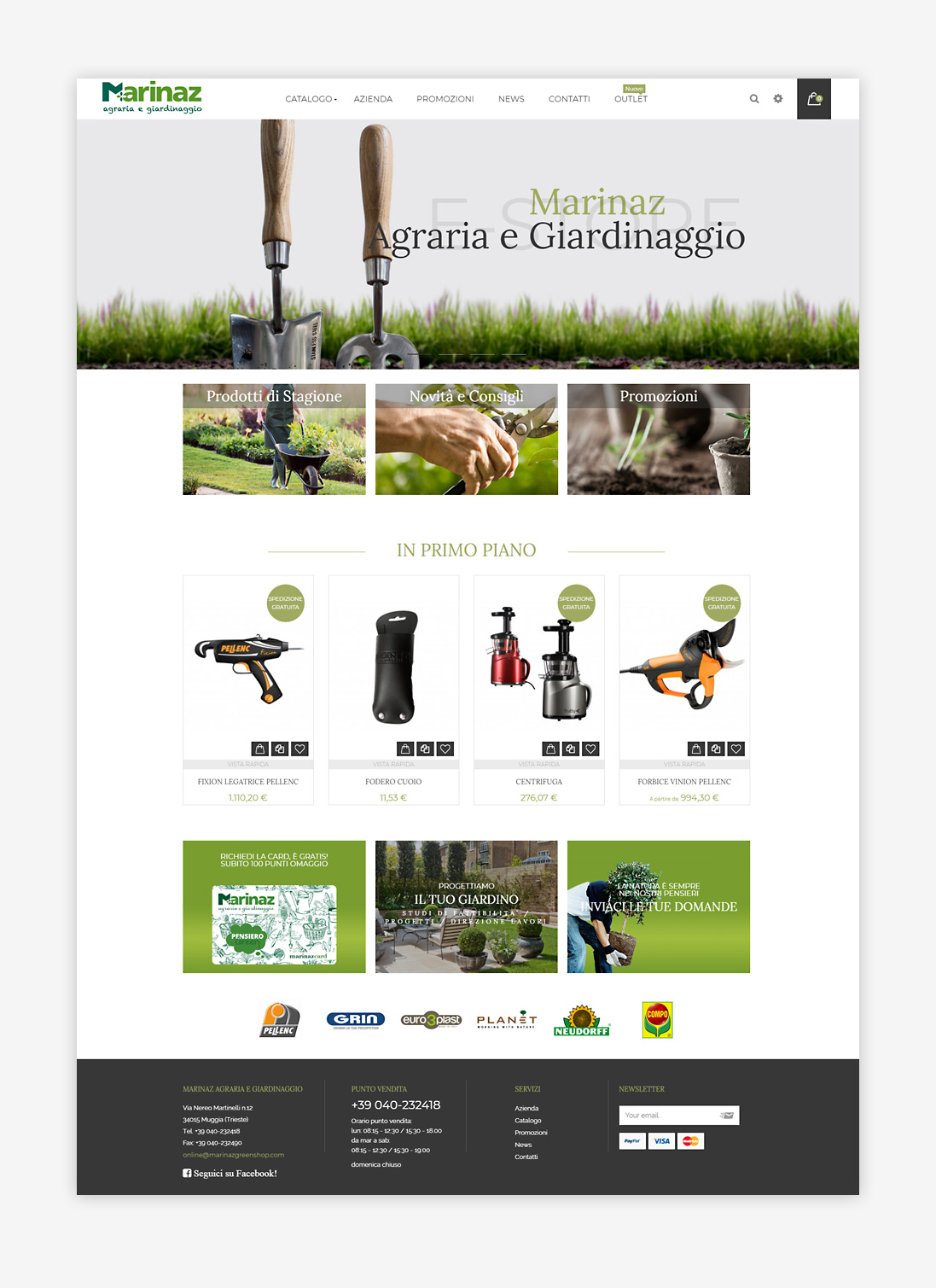 Web design Marinaz