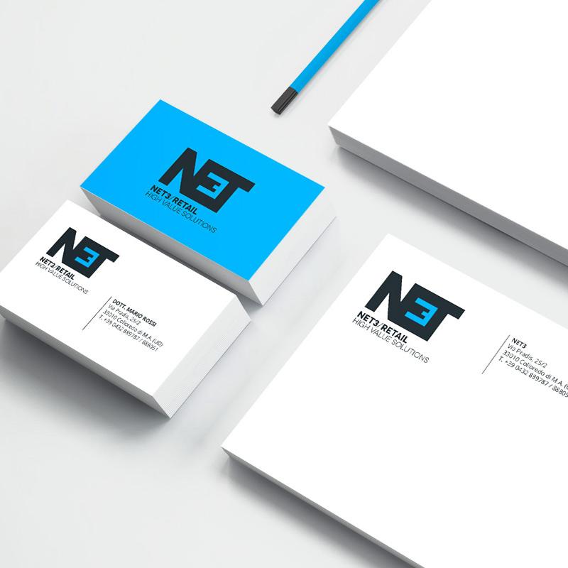 Biglietti da visita Net3 Retail