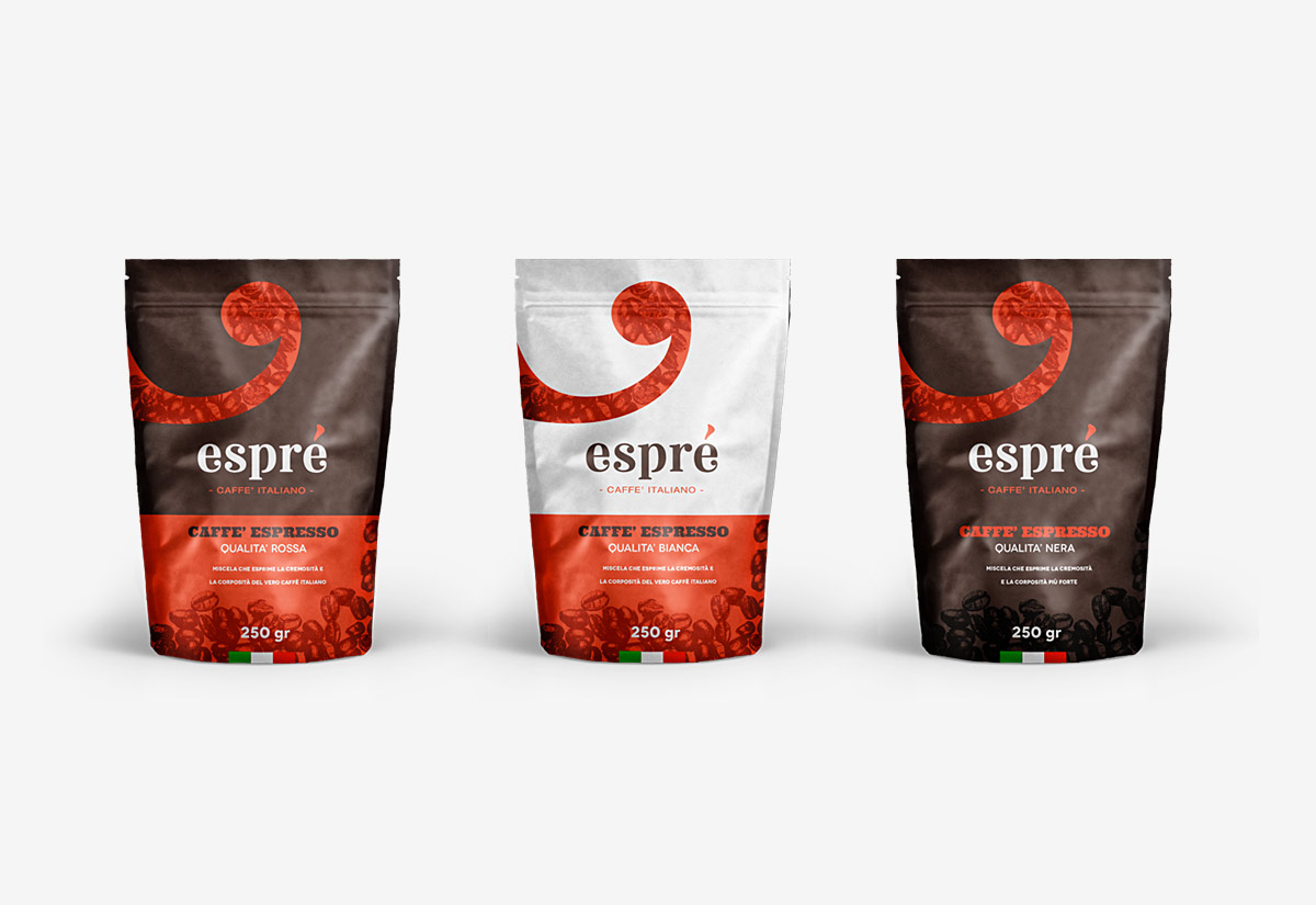 Packaging caffè Esprè