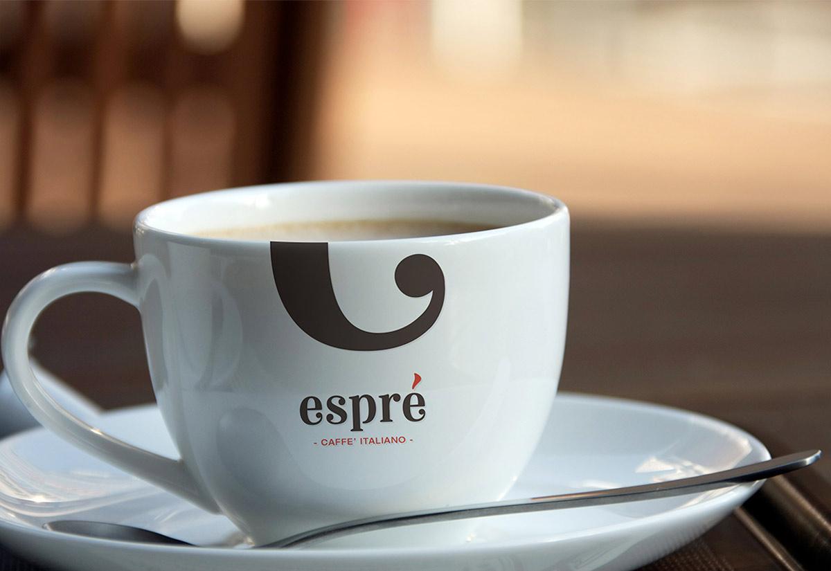 Logo per tazze da caffè Esprè