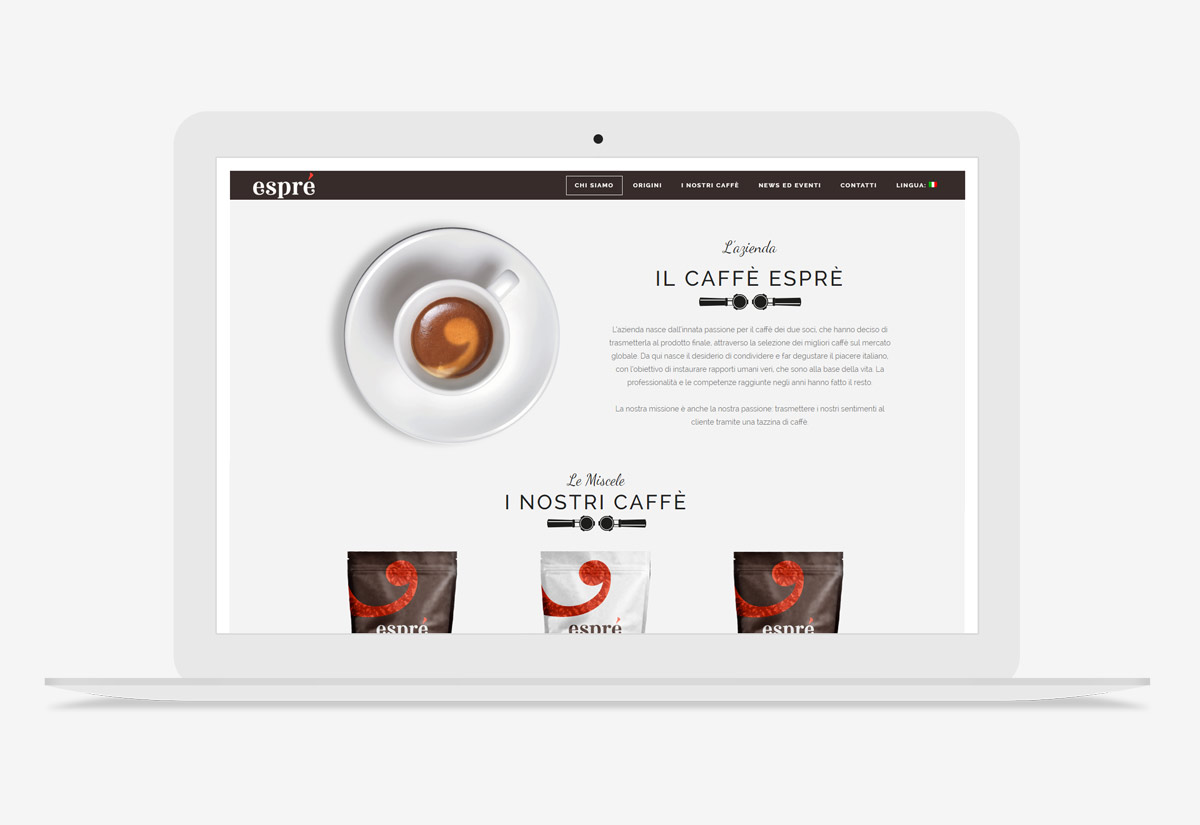 Sito internet caffè Esprè