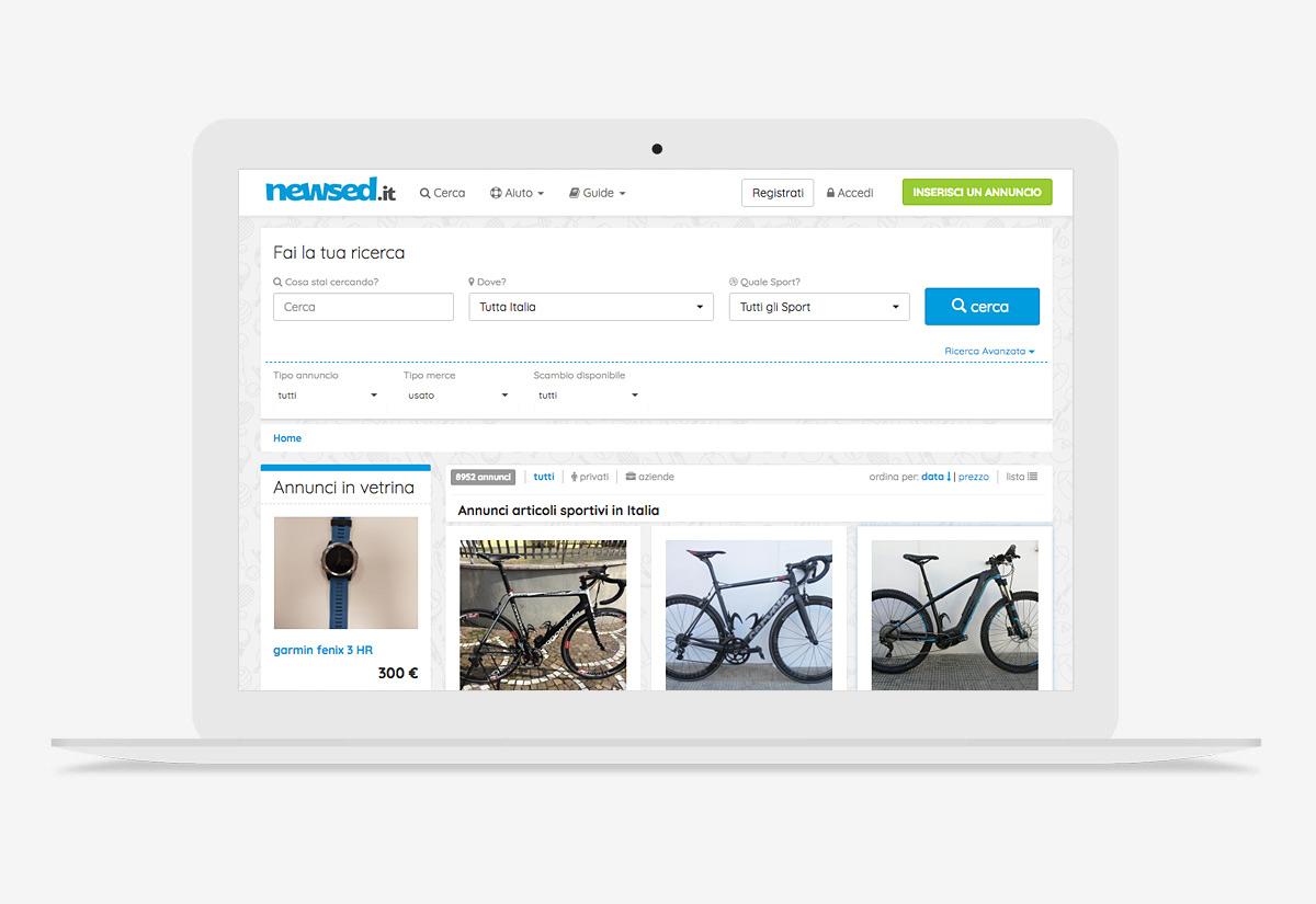 Portale di vendita nuovo e usato newsed.it