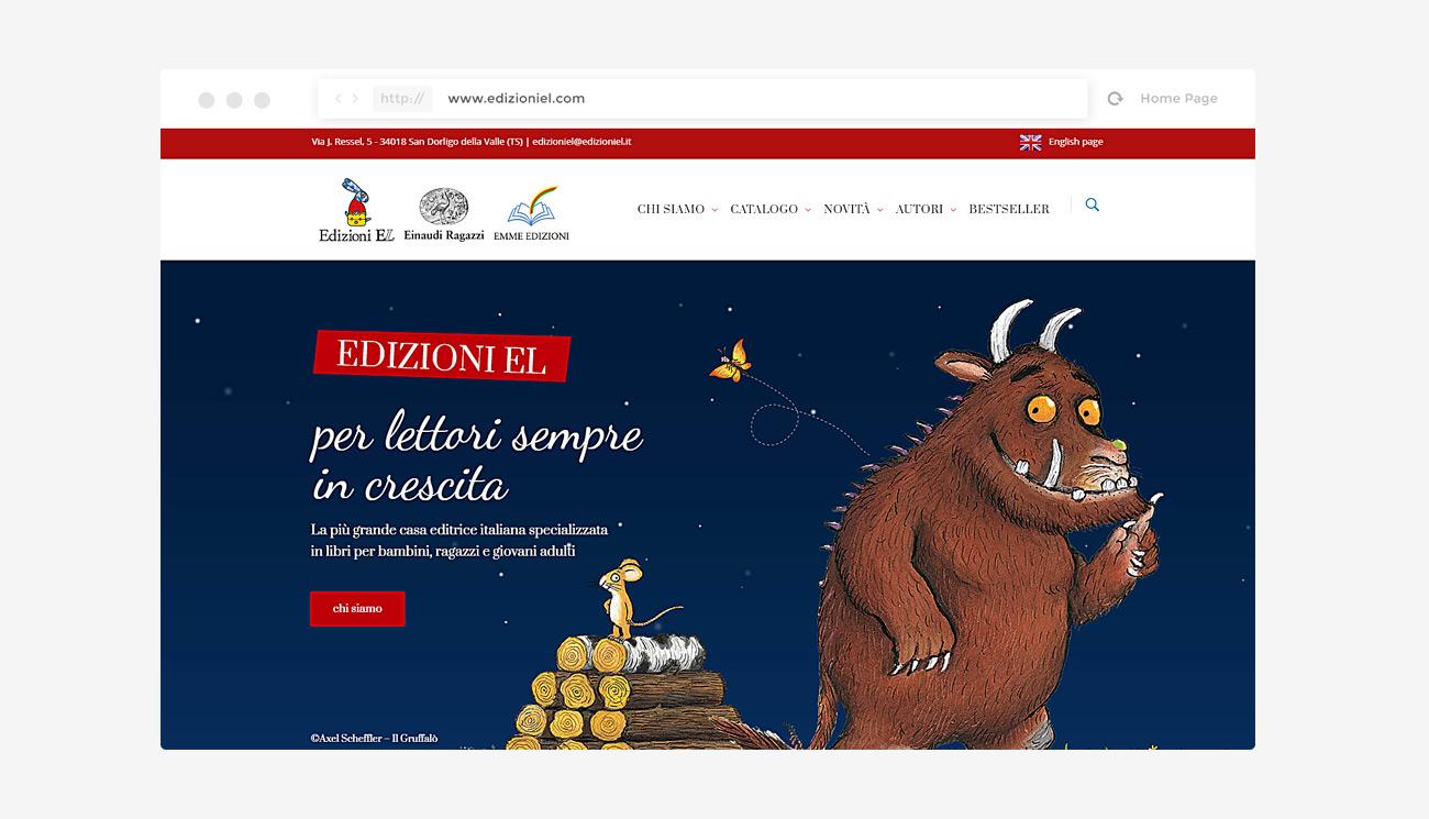Sito internet Edizioni EL