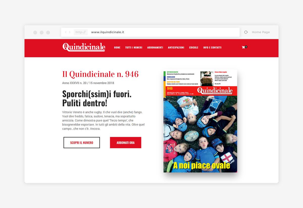 Homepage Il Quindicnale