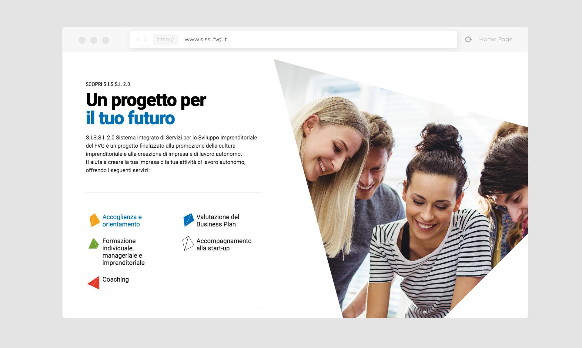 SISSI FVG - crea impresa in Friuli Venezia Giulia
