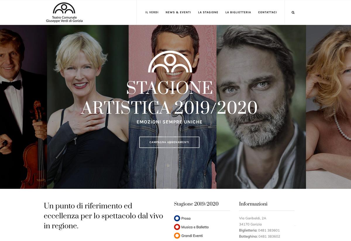 Stagione artistica Teatro Comunale G. Verdi - Gorizia