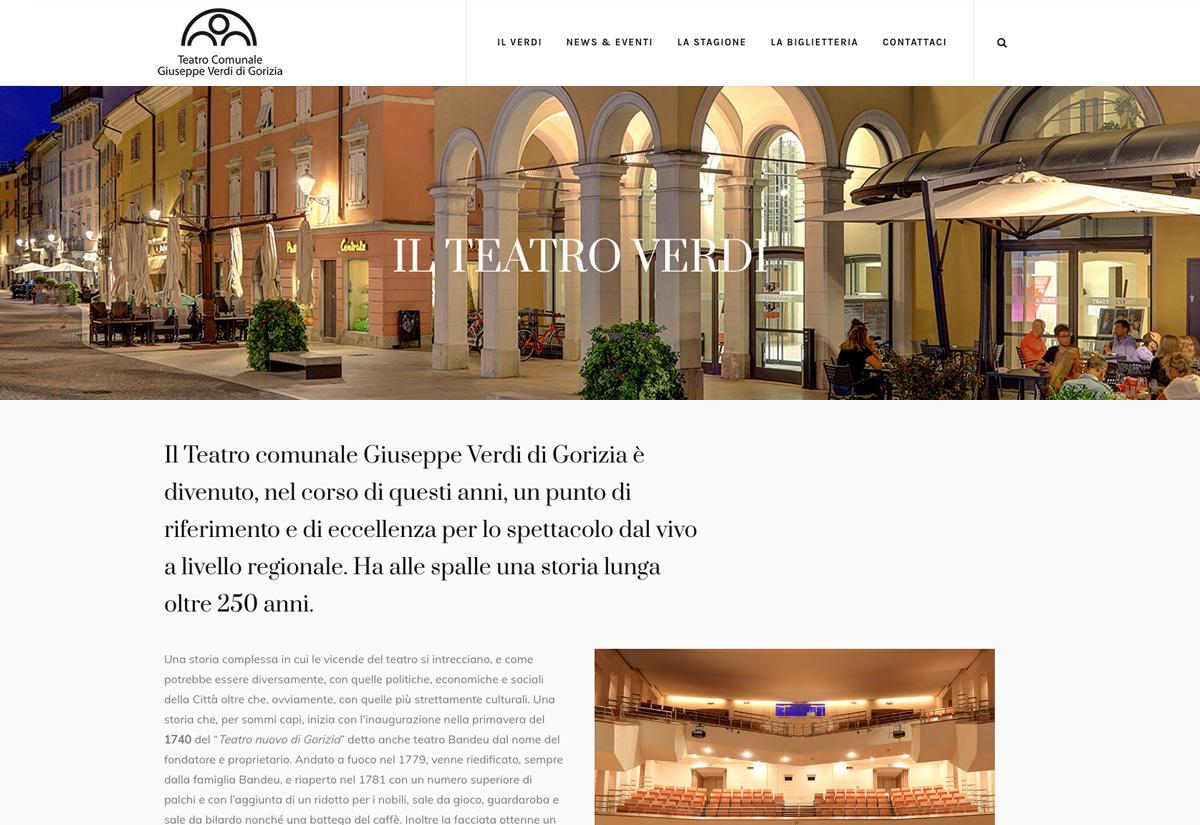 La storia del Teatro Verdi di Gorizia