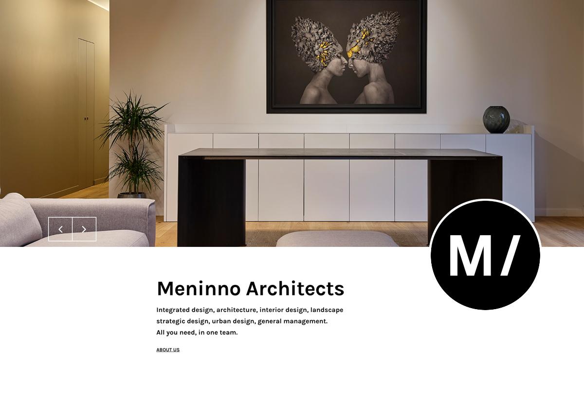 Sito web Meninno Architects
