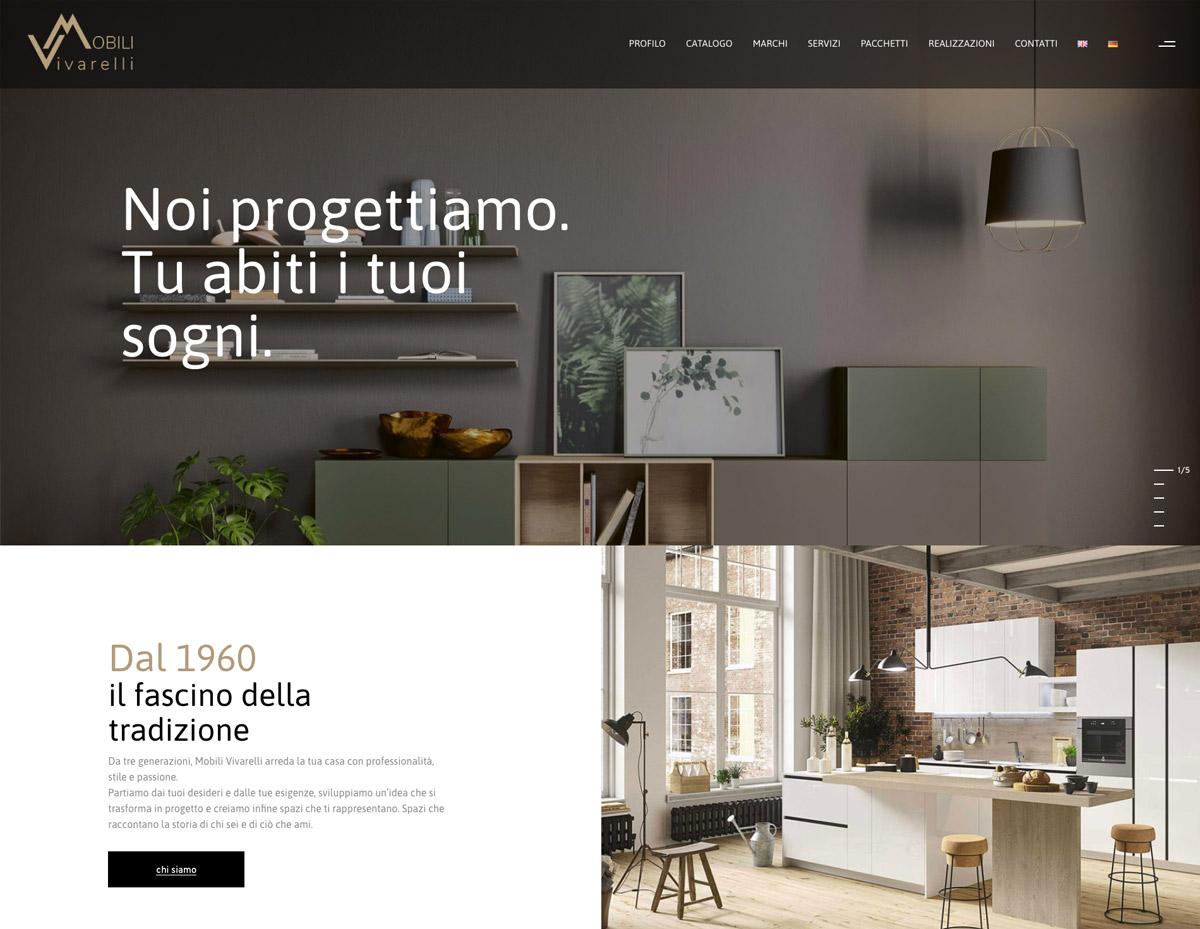 Sito web Mobili Vivarelli